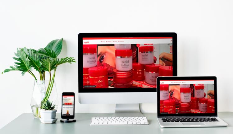 desarrollo web de tienda de productos naturales