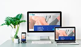 desarrollo web de centro médico y estético